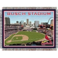 "New Busch Stadium MLB ""Stadium"" 48"" x 60"" Tapestry Throw"