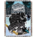 "San Jose Sharks NHL Style ""Home Ice Advantage"" 48"" x 60"" Tapestry Throw"