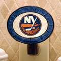 New York Islanders NHL Art Glass Nightlight