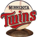 Minnesota Twins MLB Logo Figurine