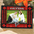 "Atlanta Falcons NFL 6.5"" x 9"" Horizontal Art-Glass Frame"