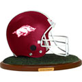 Arkansas Razorbacks NCAA College Helmet Replica Figurine
