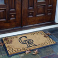Colorado Rockies MLB Rectangular Outdoor Door Mat