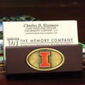 Illinois Illini NCAA College Business Card Holder