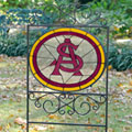 Arizona State Sun Devils NCAA College Stained Glass Outdoor Yard Sign