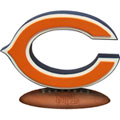 Chicago Bears NFL Logo Figurine