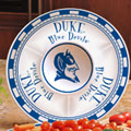 "Duke Blue Devils NCAA College 14"" Ceramic Chip and Dip Tray"