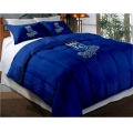 "Kansas City Royals MLB Twin Chenille Embroidered Comforter Set with 2 Shams 64"" x 86"""