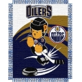 "Edmonton Oilers NHL Baby 36"" x 46"" Triple Woven Jacquard Throw"