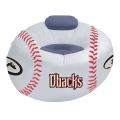 Arizona Diamondbacks MLB Vinyl Inflatable Chair w/ faux suede cushions