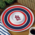 "St. Louis Cardinals MLB 14"" Round Melamine Chip and Dip Bowl"