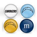 San Diego Chargers Custom Printed NFL M&M's With Team Logo