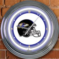 "Baltimore Ravens NFL 15"" Neon Wall Clock"