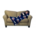 New England Patriots NFL Juvenile Fleece Comfy Throw