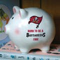 Tampa Bay Buccaneers NFL Ceramic Piggy Bank