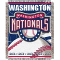 "Washington Nationals MLB 48""x 60"" Triple Woven Jacquard Throw"