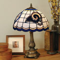 St. Louis Rams NFL Stained Glass Tiffany Table Lamp