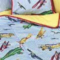 Day Bed Comforter - Red Baron Airplane