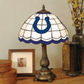 Indianapolis Colts NFL Stained Glass Tiffany Table Lamp