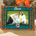 "Miami Dolphins NFL 6.5"" x 9"" Horizontal Art-Glass Frame"