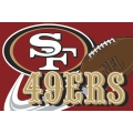 "San Francisco 49ers NFL 20"" x 30"" Tufted Rug"