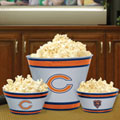 Chicago Bears NFL Melamine 3 Bowl Serving Set