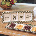 Purdue Boilermakers NCAA College Gameday Ceramic Relish Tray