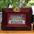 "Chicago Blackhawks NHL 8"" x 10"" Brown Horizontal Picture Frame"