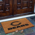 Chicago Bears NFL Rectangular Outdoor Flocked Door Mat
