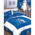 Duke Blue Devils 100% Cotton Sateen Queen Bed-In-A-Bag