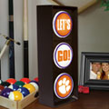 Clemson Tigers NCAA College Stop Light Table Lamp