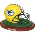 Green Bay Packers NFL Football Helmet Figurine