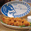 "Duke Blue Devils NCAA College 12"" Gameday Ceramic Oval Platter"
