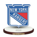 New York Rangers NHL Logo Figurine