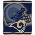 "St. Louis Rams NFL ""Tonal"" 50"" x 60"" Super Plush Throw"