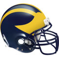 Michigan Helmet Fathead NCAA Wall Graphic
