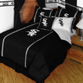 Chicago White Sox MLB Microsuede Comforter / Sheet Set