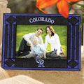 "Colorado Rockies MLB 6.5"" x 9"" Horizontal Art-Glass Frame"