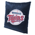 "Minnesota Twins MLB 16"" Embroidered Plush Pillow with Applique"