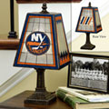 New York Islanders NHL Art Glass Table Lamp