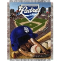 "San Diego Padres MLB ""Home Field Advantage"" 48"" x 60"" Tapestry Throw"