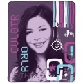 "iCarly iBlog Entertainment 50"" x 60"" Micro Raschel Throw"