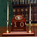San Francisco 49ers NFL Perpetual Office Calendar