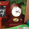 Philadelphia Eagles NFL Brown Desk Clock