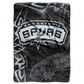 "San Antonio Spurs NBA ""Tie Dye"" 60"" x 80"" Super Plush Throw"