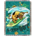 "Scooby Doo Dawgin Out 48"" x 60"" Metallic Tapestry Throw"