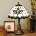 New Orleans Saints NFL Stained Glass Tiffany Table Lamp