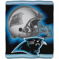 "Carolina Panthers NFL ""Tonal"" 50"" x 60"" Super Plush Throw"