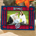"Washington Nationals MLB 6.5"" x 9"" Horizontal Art-Glass Frame"