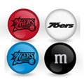 Philadelphia 76ers Custom Printed NBA M&M's With Team Logo